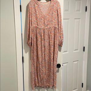 EUC Christy Dawn Willa Dress Coral Blossom S